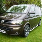 VW T5 Caravelle Brown Roof Rails Alloys