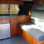 VW Camper Conversion Cherry Interior
